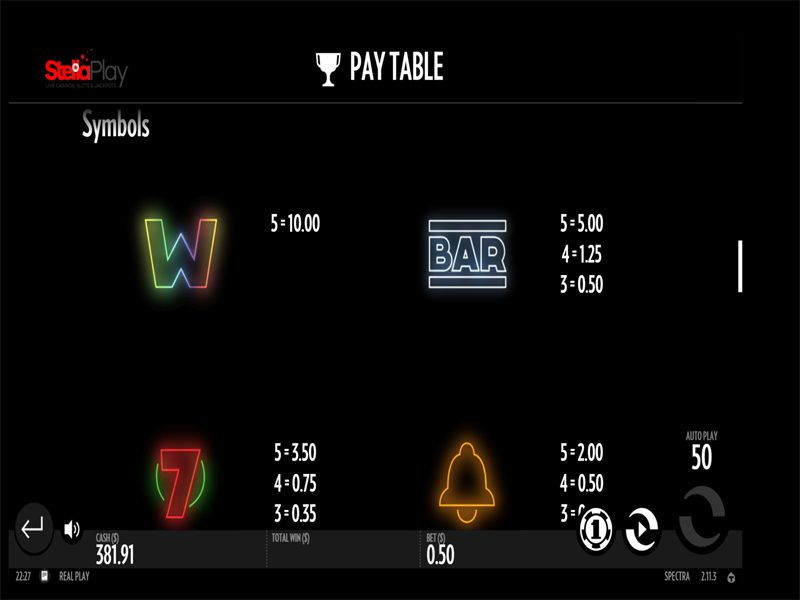 Spectra-Thunderkick-PayTable-800x600