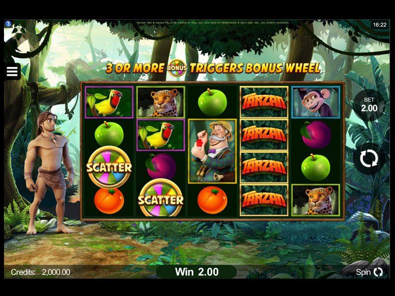 Tarzan-scatters