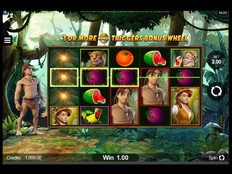 Tarzan-wins